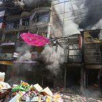 Trujillo: Incendio arrasa tres puestos de abarrotes cerca de la Hermelinda