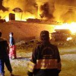 Carabayllo: un gran incendio consumió dos centros de acopio de reciclaje
