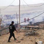 Áncash: incendio consumió más de 50 viviendas en asentamiento humano Lomas de Cono Norte en Chimbote