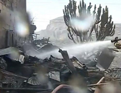 VMT: familia lo pierde todo tras incendio que destruyó su vivienda