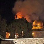 Se desata un incendio en el recinto de la Explanada de las Mezquitas en Jerusalén