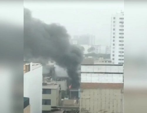 Surquillo: se reporta incendio en una vivienda cerca al parque Bolívar