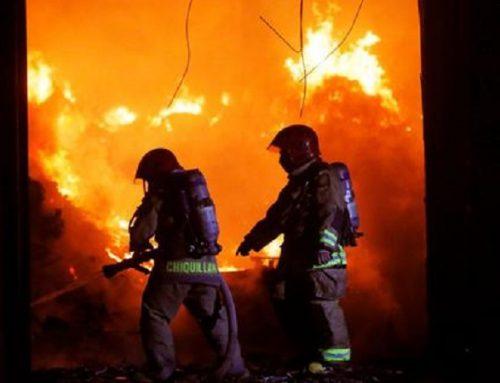 Incendio en quinta de La Victoria dejó una mujer herida