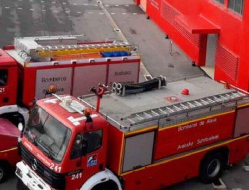 Los bomberos de Álava tendrán nuevos vehículos contra incendios